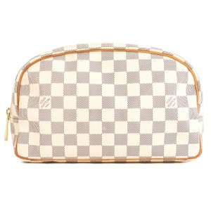 Louis Vuitton Louis Vuitton Damier Azur Canvas Toiletry Bag 25 Pre Owned