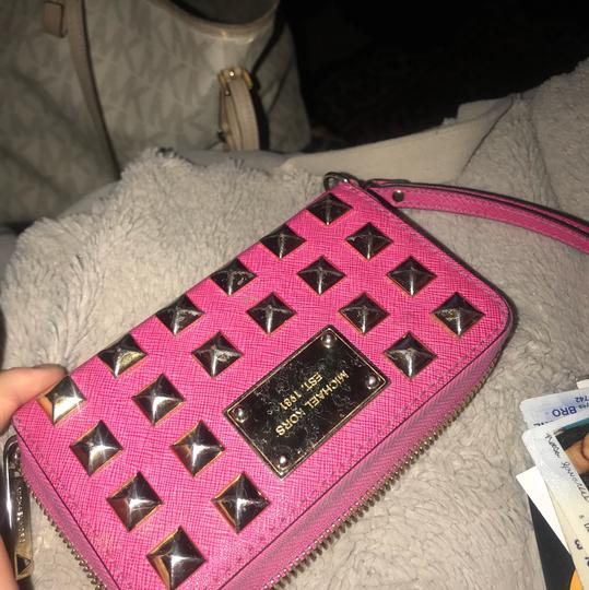 Michael Kors hot pink Clutch