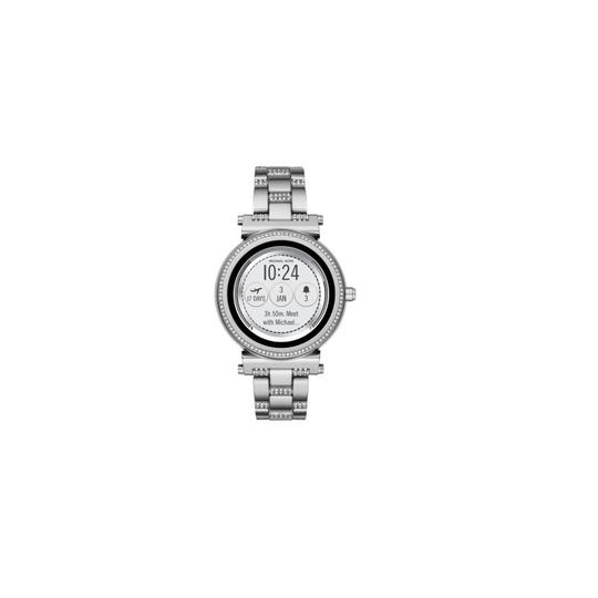 Michael Kors Michael Kors Silver Unisex Sofie Steel Smart Watch MKT5036
