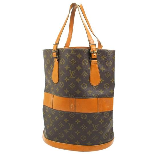 Preload https://item1.tradesy.com/images/louis-vuitton-bucket-monogram-gm-866752-brown-coated-canvas-tote-23330575-0-1.jpg?width=440&height=440