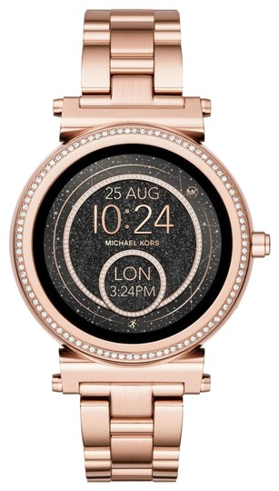 Preload https://item2.tradesy.com/images/michael-kors-rose-gold-unisex-sofie-plated-smart-mkt5022-watch-23330586-0-1.jpg?width=440&height=440