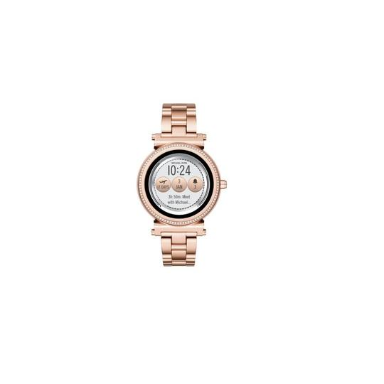 Michael Kors Michael Kors Unisex Sofie Rose Gold Plated Smart Watch MKT5022