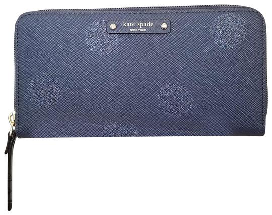 Preload https://item4.tradesy.com/images/kate-spade-blue-hani-haven-lane-french-navy-dot-wallet-23330593-0-1.jpg?width=440&height=440