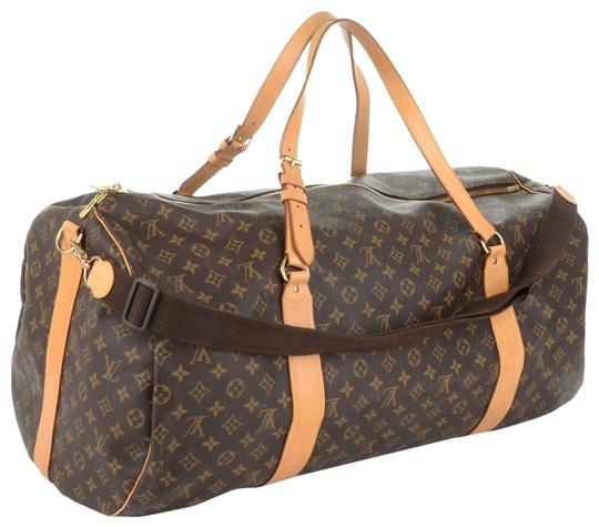 Preload https://item2.tradesy.com/images/louis-vuitton-monogram-sac-polochon-bandouliere-866756-brown-coated-canvas-weekendtravel-bag-23330606-0-2.jpg?width=440&height=440