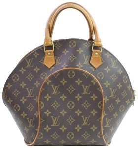 Preload https://item4.tradesy.com/images/louis-vuitton-ellipse-mm-866761-brown-monogram-canvas-satchel-23330643-0-1.jpg?width=440&height=440