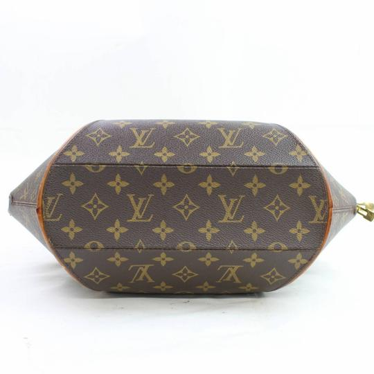 Louis Vuitton Stop Sign Seashell Shell Octagon Bowler Satchel in Brown