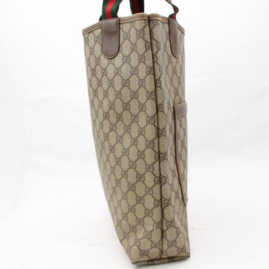 Gucci Sherry Shelly Ophidia Marmont Soho Tote in Beige