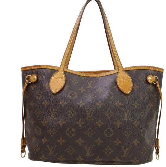 Preload https://img-static.tradesy.com/item/23330668/louis-vuitton-neverfull-pm-monogram-brown-coated-canvas-tote-0-1-540-540.jpg