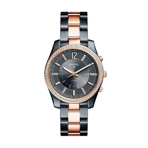 Fossil Fossil Q Women's Scarlette Rose Gold Blue Hybrid Smart Watch FTW5017