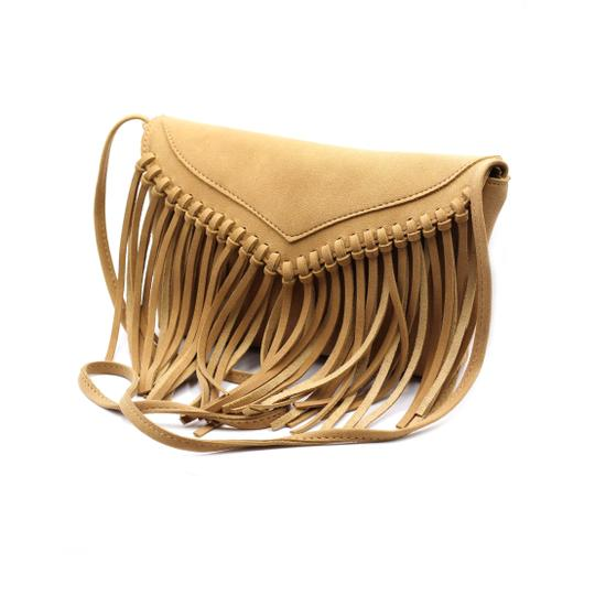 Preload https://img-static.tradesy.com/item/23330697/fringed-suede-small-purse-brown-faux-leather-shoulder-bag-0-0-540-540.jpg