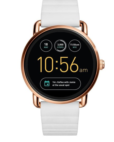 Preload https://img-static.tradesy.com/item/23330704/fossil-white-gen-2-women-s-wander-touch-silicone-ftw2114-watch-0-0-540-540.jpg