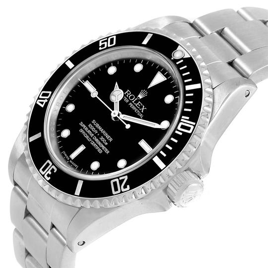 Rolex Rolex Submariner No Date 4 Liner Steel Mens Watch 14060