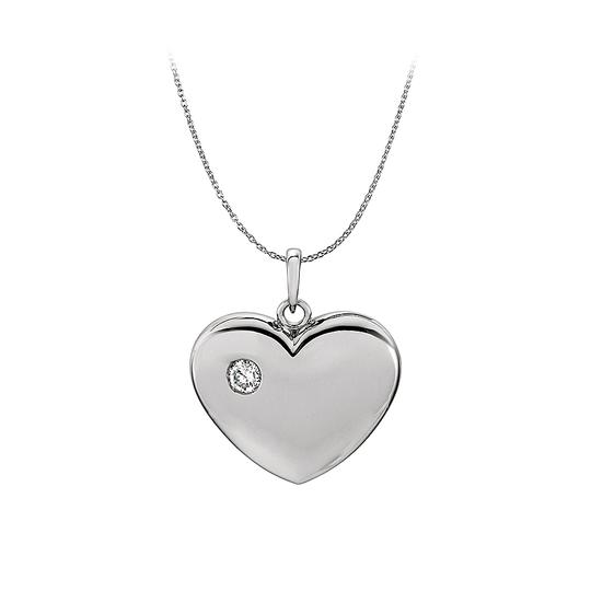 Preload https://img-static.tradesy.com/item/23330747/white-diamond-heart-pendant-in-14k-gold-with-free-chain-necklace-0-0-540-540.jpg