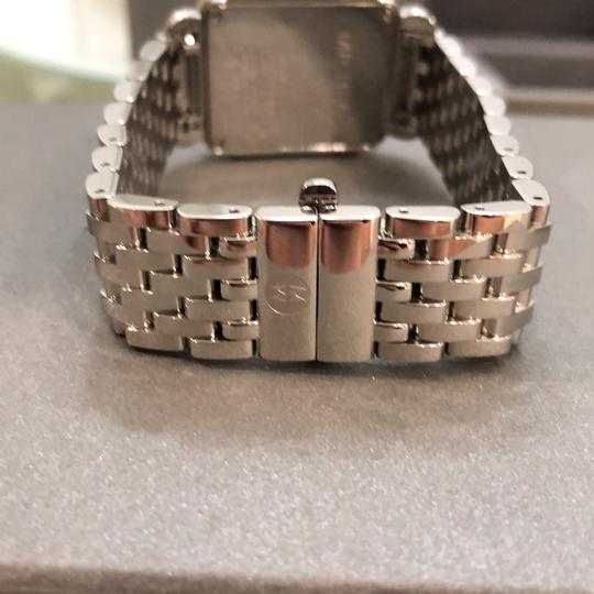 Michele MW06V01A1025 0.49 ctw diamond stainless steel Deco