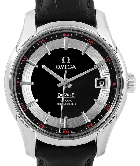 Preload https://item5.tradesy.com/images/omega-black-deville-hour-vision-dial-mens-43133412101001-watch-23330774-0-1.jpg?width=440&height=440