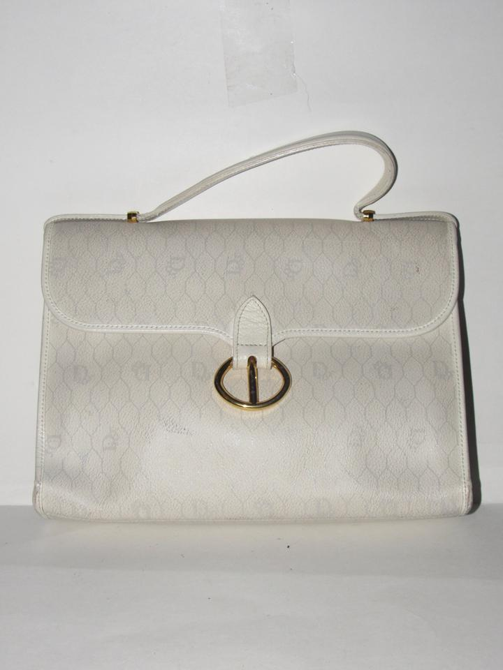 Dior Vintage Purses Designer Purses Ivory Tan and Greys In Honeycomb ... 74f8267a5d
