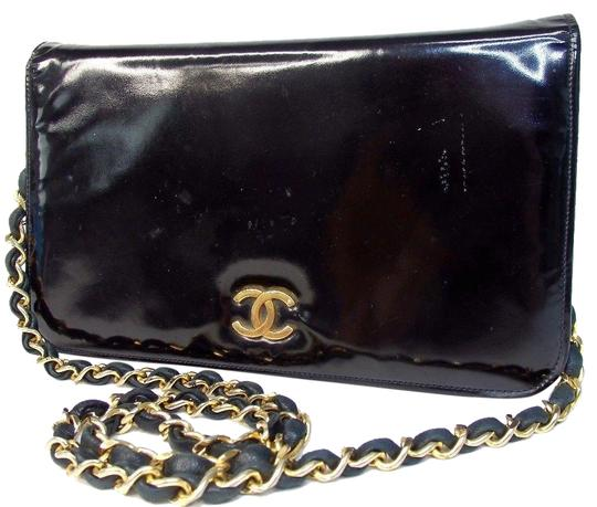Preload https://item1.tradesy.com/images/chanel-patient-black-leather-shoulder-bag-23330785-0-1.jpg?width=440&height=440