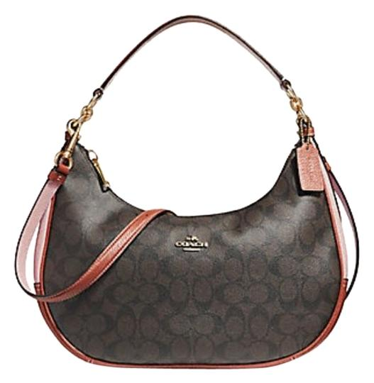 Coach Harley Satchel Black Hobo Bag