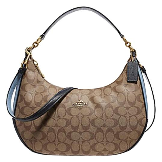 Preload https://item4.tradesy.com/images/coach-harley-in-colorblock-signature-38250-25897-khakimidnight-pool-leather-hobo-bag-23330823-0-1.jpg?width=440&height=440