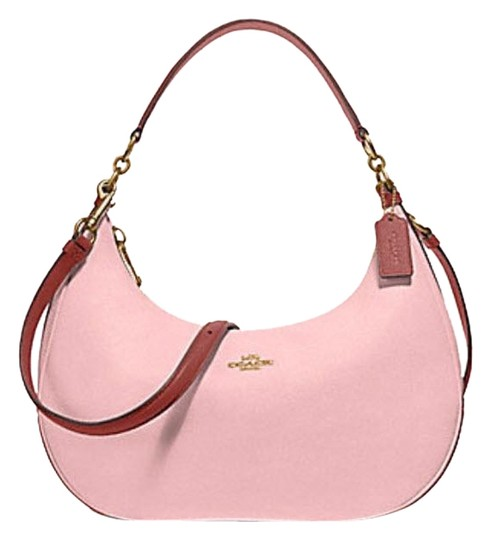 Preload https://item4.tradesy.com/images/coach-harley-east-west-colorblock-38250-25896-blushterracottalight-gold-leather-hobo-bag-23330833-0-1.jpg?width=440&height=440