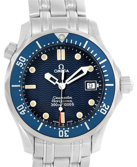 Preload https://item4.tradesy.com/images/omega-blue-seamaster-midsize-36mm-wave-dial-unisex-25618000-watch-23330838-0-1.jpg?width=440&height=440