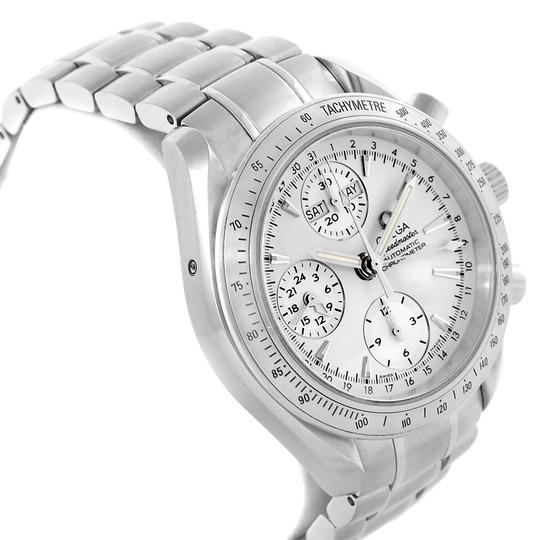 Omega Omega Speedmaster Day Date Chrono Silver Dial Watch 3221.30.00