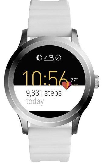 Preload https://img-static.tradesy.com/item/23330847/fossil-white-gen-2-silicone-touchscreen-smart-ftw2115-watch-0-1-540-540.jpg