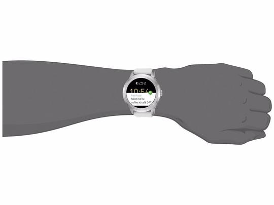 Fossil Fossil Q Gen 2 White Silicone Touchscreen Smart Watch FTW2115