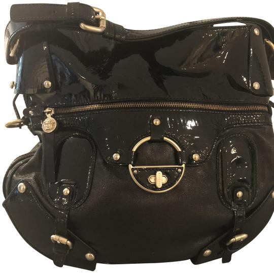 Preload https://item2.tradesy.com/images/versace-handbag-black-leather-and-patent-accents-hobo-bag-23330856-0-1.jpg?width=440&height=440