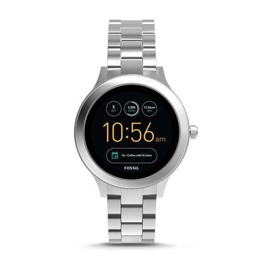 Preload https://img-static.tradesy.com/item/23330870/fossil-silver-gen-3-venture-steel-bracelet-touchscreen-smart-ftw6003-watch-0-0-540-540.jpg