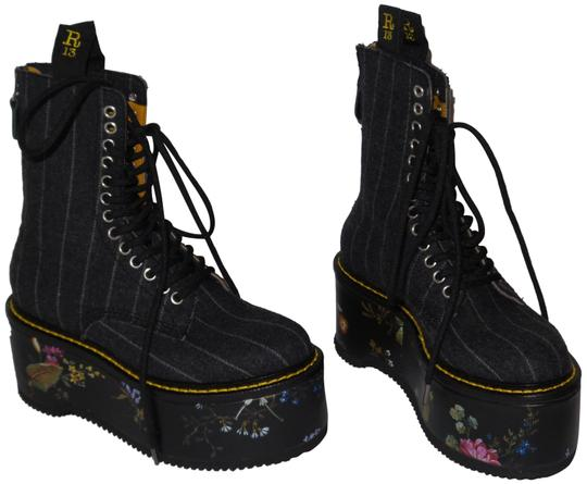 Preload https://item3.tradesy.com/images/r13-multi-color-double-stack-flannel-ankle-bootsbooties-bootsbooties-size-eu-35-approx-us-5-regular--23330872-0-1.jpg?width=440&height=440