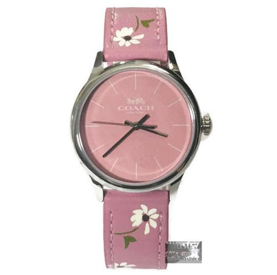 Preload https://img-static.tradesy.com/item/23330884/coach-pink-ruby-limited-edition-leather-strap-daisy-floral-w1546-watch-0-0-540-540.jpg