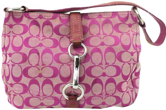 Preload https://item5.tradesy.com/images/coach-hampton-small-f13067-pink-canvas-tote-23330899-0-1.jpg?width=440&height=440