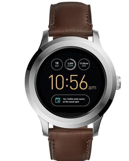 Preload https://item2.tradesy.com/images/fossil-brown-gen-2-q-founder-leather-touchscr-smart-ftw2119-watch-23330901-0-0.jpg?width=440&height=440