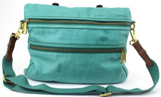 Fossil Tote in Green
