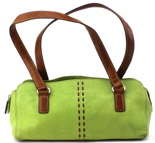 Fossil Satchel in Green