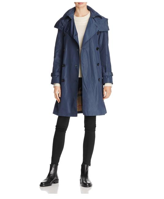 Preload https://item2.tradesy.com/images/burberry-air-force-blue-amberford-hooded-trench-coat-size-6-s-23330931-0-0.jpg?width=400&height=650