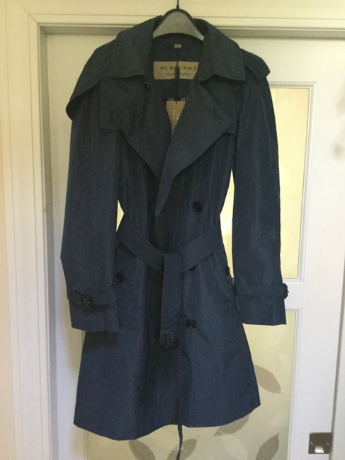 Burberry Rain Hooded Amberford Trench Coat