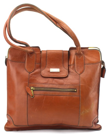 Preload https://img-static.tradesy.com/item/23330934/unique-vintage-saddle-small-briefcase-tote-brown-leather-cross-body-bag-0-0-540-540.jpg