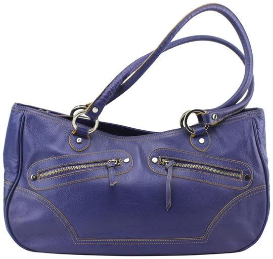 Preload https://img-static.tradesy.com/item/23330937/hype-pebbled-large-tote-purple-leather-hobo-bag-0-1-540-540.jpg