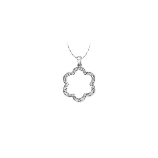 Preload https://item1.tradesy.com/images/white-silver-cubic-zirconia-flower-shaped-pendant-in-sterling-050-ct-tgwjew-necklace-23330985-0-0.jpg?width=440&height=440