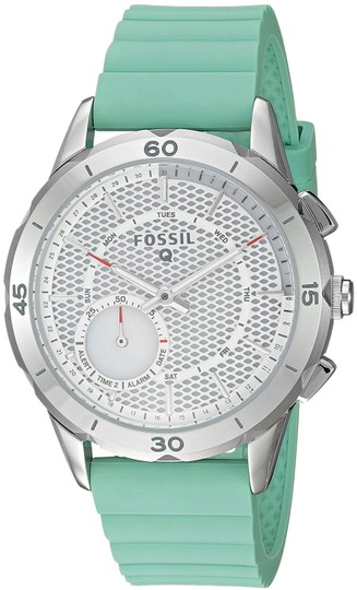 Preload https://item3.tradesy.com/images/fossil-green-women-s-silicone-strap-hybrid-smart-ftw1134-watch-23330997-0-1.jpg?width=440&height=440