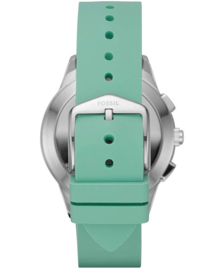 Fossil Fossil Women's Green Silicone Strap Hybrid Smart Watch FTW1134