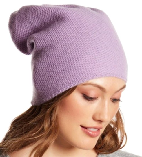 Preload https://item4.tradesy.com/images/portolano-lilac-cashmere-slouchy-hat-23331018-0-1.jpg?width=440&height=440