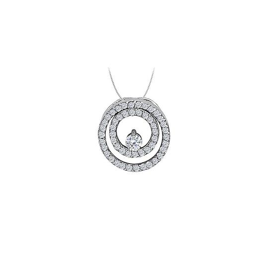 Preload https://img-static.tradesy.com/item/23331019/white-silver-cubic-zirconia-double-circle-pendant-in-sterling-050-ct-tgwjew-necklace-0-0-540-540.jpg