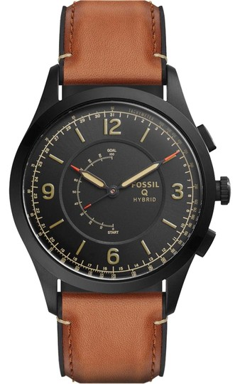 Preload https://item2.tradesy.com/images/fossil-black-gen-2-men-s-brown-leather-strap-smart-ftw1206-watch-23331046-0-1.jpg?width=440&height=440