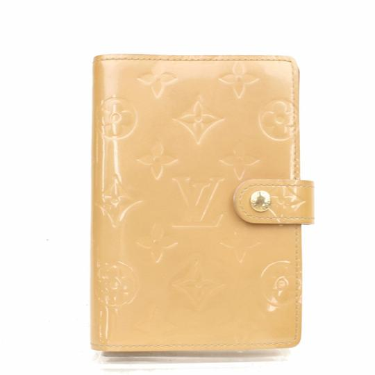 Louis Vuitton Louis Vuitton Diary Cover / Agenda PM Beiges Vernis