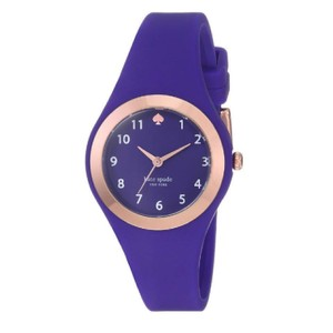 Kate Spade Kate Spade New York Women's rose gold and cobalt blue Watch KSW1306