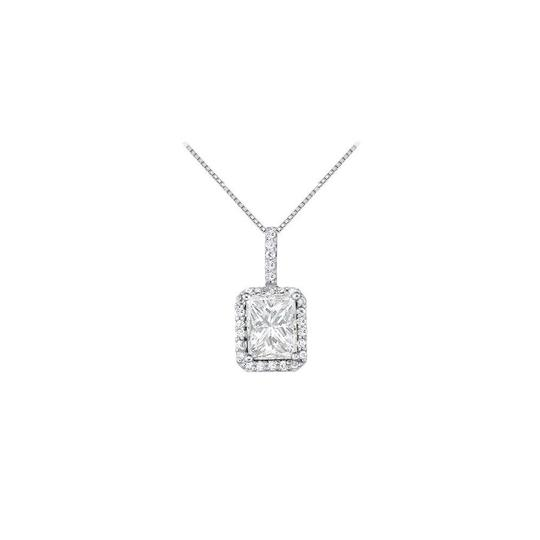 Preload https://img-static.tradesy.com/item/23331070/white-silver-april-birthstone-cubic-zirconia-square-halo-pendant-in-925-sterling-si-necklace-0-0-540-540.jpg