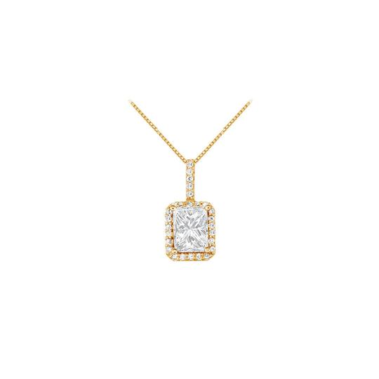 Preload https://item3.tradesy.com/images/white-yellow-april-birthstone-cubic-zirconia-square-halo-pendant-gold-vermeil-necklace-23331077-0-0.jpg?width=440&height=440
